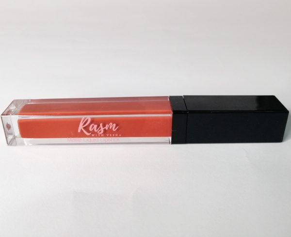 Rasm with Veena in VEE liquid lipstcik